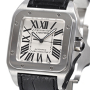 Replica Cartier Santos 100 Steel Automatic Replica W20073X8